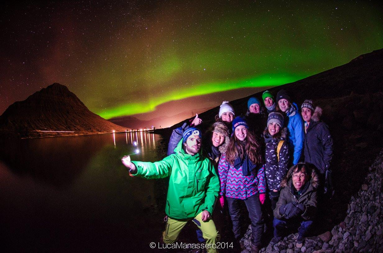 Renovation and Aurora hunting in East of Iceland